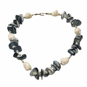 Mother of Pearl Necklace Iridescent Shell